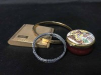 Lot 47-LOT OF COSTUME JEWELLERY including a pair of...