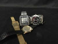 Lot 48-LOT OF GENTLEMAN'S WATCHES including Casio World...