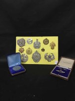 Lot 50-LOT OF VARIOUS COINS AND MEDALLIONS including a...